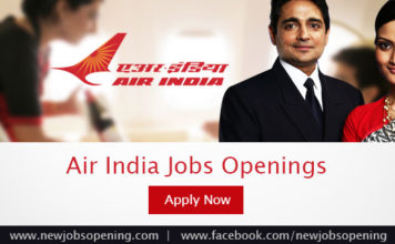 Air India jobs openings