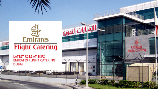 New jobs at ekfc emirates flight catering dubai for Kitchen companies dubai