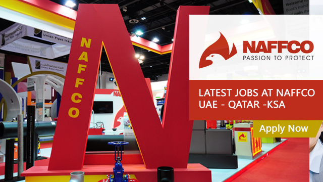 Latest Jobs at NAFFCO