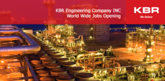 KBR Engineering Company INC-World Wide Jobs Opening