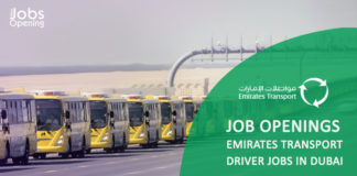 Job Openings Emirates Transport   driver jobs in Dubai   Gov jobs   ET pursues a top-notch strategy in the transport and auto services sector throughout the UAE , New Jobs opening is a complete job portal for jobs in all countries especially in gulf & middle east. Find latest jobs from all reputed companies & apply for online jobs in middle east.