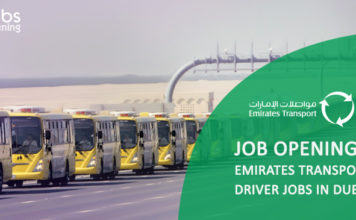 Job Openings Emirates Transport | driver jobs in Dubai | Gov jobs | ET pursues a top-notch strategy in the transport and auto services sector throughout the UAE , New Jobs opening is a complete job portal for jobs in all countries especially in gulf & middle east. Find latest jobs from all reputed companies & apply for online jobs in middle east.
