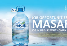 Job Opportunities at Masafi – Job In UAE - Kuwait - Oman - KSA
