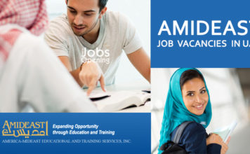 Job in UAE | Vacancies AMIDEAST| Arabic & English Teacher Jobs Opening