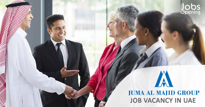 Jobs In Dubai at Juma Al Majid Group, Job Vacancy in UAE