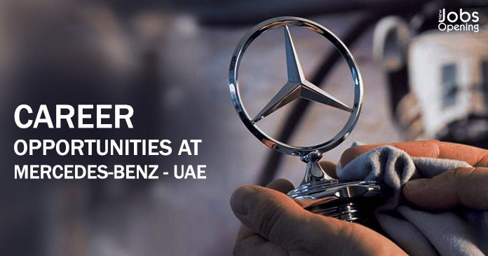 Career opportunities at mercedes benz uae for Mercedes benz financial services jobs