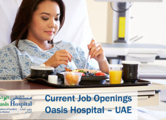 Current Job Openings Oasis Hospital – UAE
