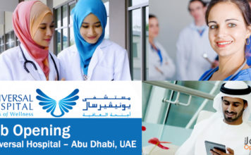Job-Opening-at-Universal-Hospital-Abu-Dhab-UAE