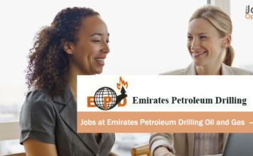 Jobs at Emirates Petroleum Drilling Oil and Gas – UAE