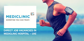 Direct Job Vacancies In Mediclinic Hospital – UAE
