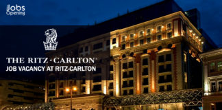Job Vacancy at Ritz-Carlton – UAE-KSA-Qatar-US-UK-Singapore-Oman-Malaysia-India