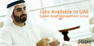 Jobs Available In UAE | Ejadah Asset Management Group – Job Dubai