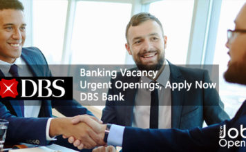 Banking Vacancy - Urgent Openings, Apply Now | DBS Bank