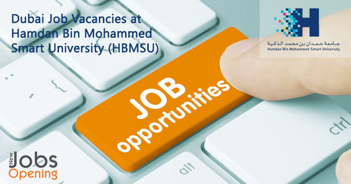 Dubai Job Vacancies at Hamdan Bin Mohammed Smart ...