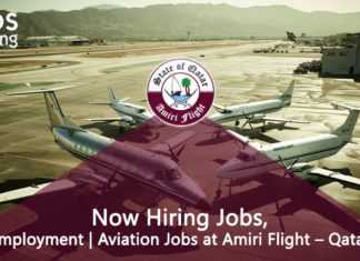 Now Hiring Jobs, | Aviation Jobs at Amiri Flight – Job In Qatar