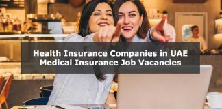 Looking for Insurance jobs in UAE? Insurance careers & vacancies, Health Insurance Companies in UAE, Medical Insurance Job Vacancies in Dubai UAE