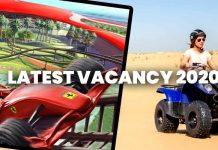 Jobs in UAE - Ferrari World and Yas Waterworld - Latest Vacancies