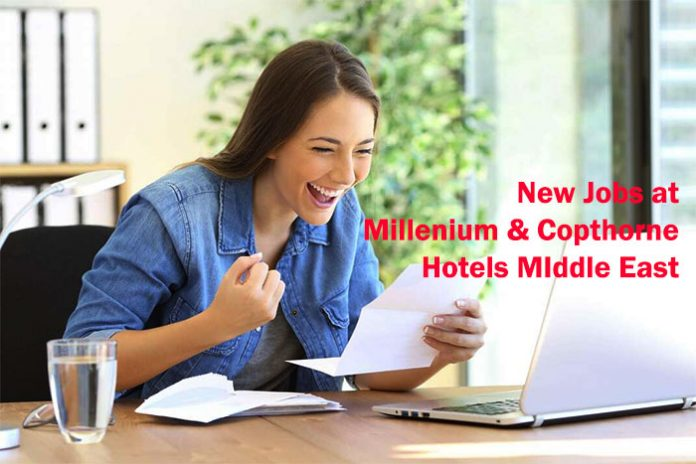 New Jobs at Millenium & Copthorne Hotels MIddle East